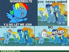 Poor rainbowdash
