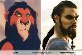 Scar Totally Looks Like Jason Momoa