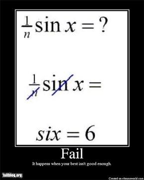 Trig Fail