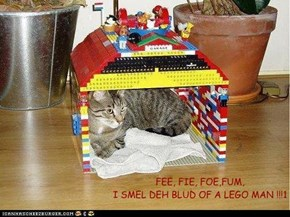 The Cat Giant of Lego City