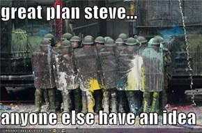 great plan steve...  anyone else have an idea