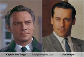 Captain Von Trapp Totally Looks Like Don Draper