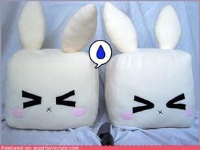 Tofu Bunny Cubes