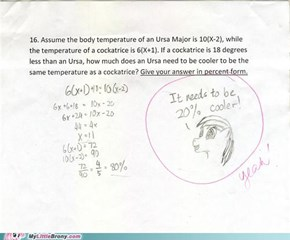 *Brohoof* Math Teacher