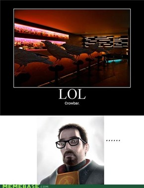 Gordon Freeman Doesn't Get It