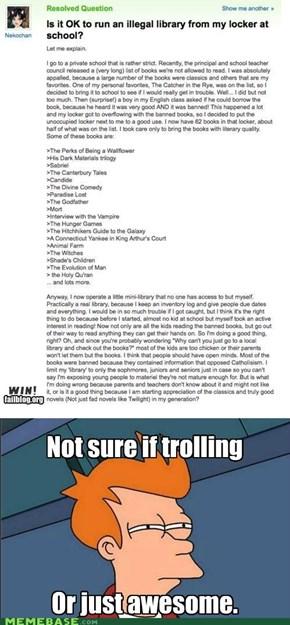Trollbrarian