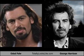 Oded Fehr Totally Looks Like George Harrison