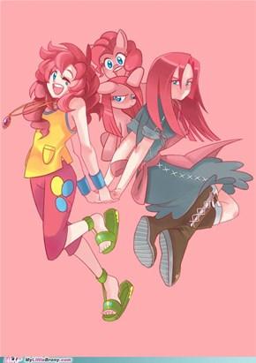 MLP Anime: Pinkie Pie