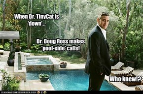HMPH's Labor Day Weekend Pool Party...The Doctor is in! Just in case!