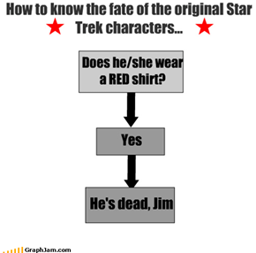 How to know the fate of the original Star Trek characters...