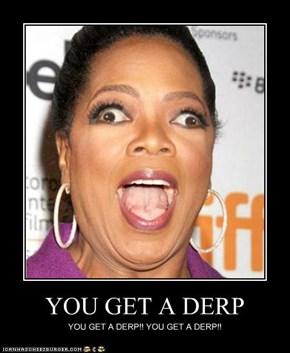 YOU GET A DERP