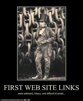 FIRST WEB SITE LINKS