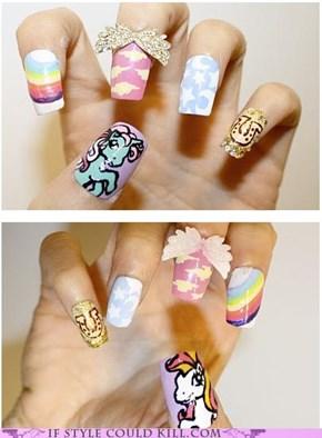 Pony Nail Art