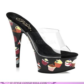 Cupcake Lovers' shoes