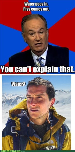Bill O'Reilly vs Bear Grylls