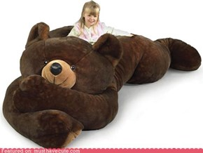Giant Teddy Bear Bed