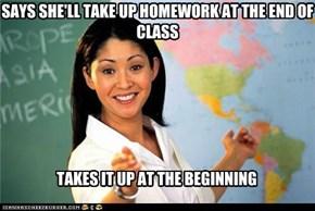 Terrible Teacher:Scumbag Teacher