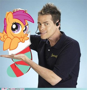 Hi, it's Vince with Scootaloo