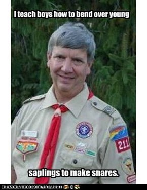 Creepy Scoutmaster
