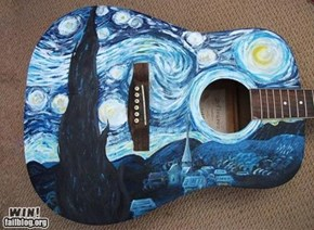 Starry Night Guitar WIN