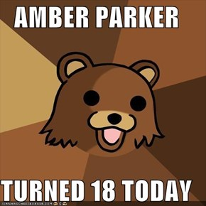 AMBER PARKER  TURNED 18 TODAY