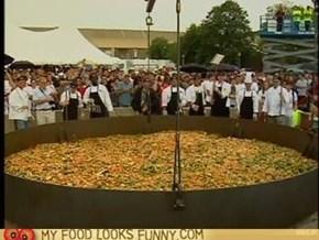UMass cooks world's largest stir-fry