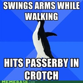Socially Awkward Penguin: Oh, Nuts