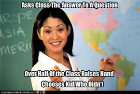 Asks Class The Answer To A Question