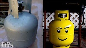 Hacked IRL: Lego ALL THE THINGS