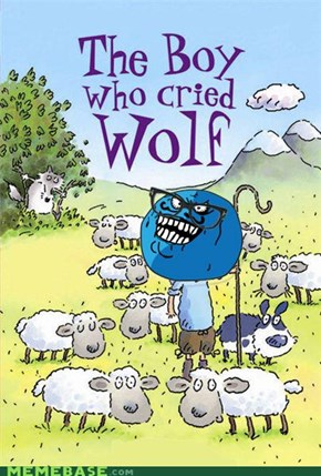 I Cried Wolf Before I Even Saw It