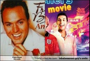 Frans Bauer his smile Totally Looks Like inbetweeners guy's smile