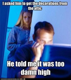Internet Husband: Xmas Already?