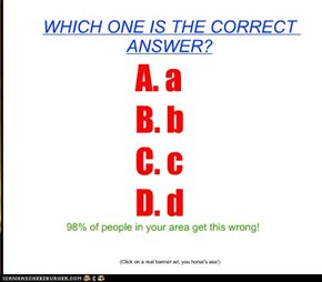 Test your I.Q.
