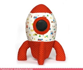 Sew Your Own Big Soft Rocket