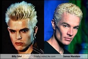 Billy Idol Totally Looks Like James Marsters