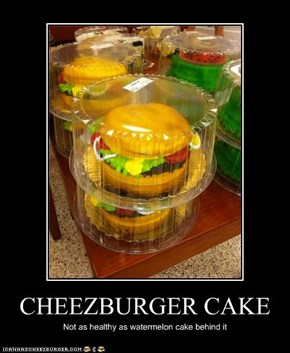 CHEEZBURGER CAKE