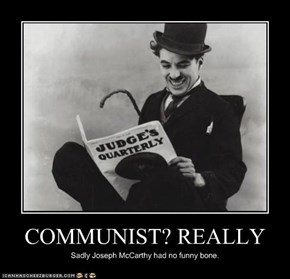 COMMUNIST? REALLY