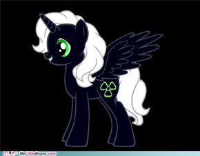 Radiance  the X-Ray pony :)