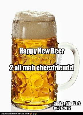 Happy New Beer