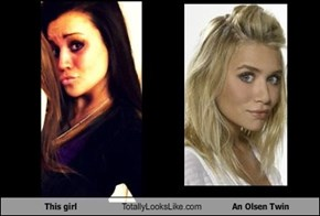 This girl Totally Looks Like An Olsen Twin
