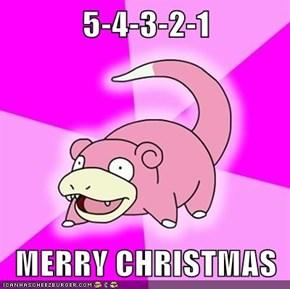 5-4-3-2-1  MERRY CHRISTMAS