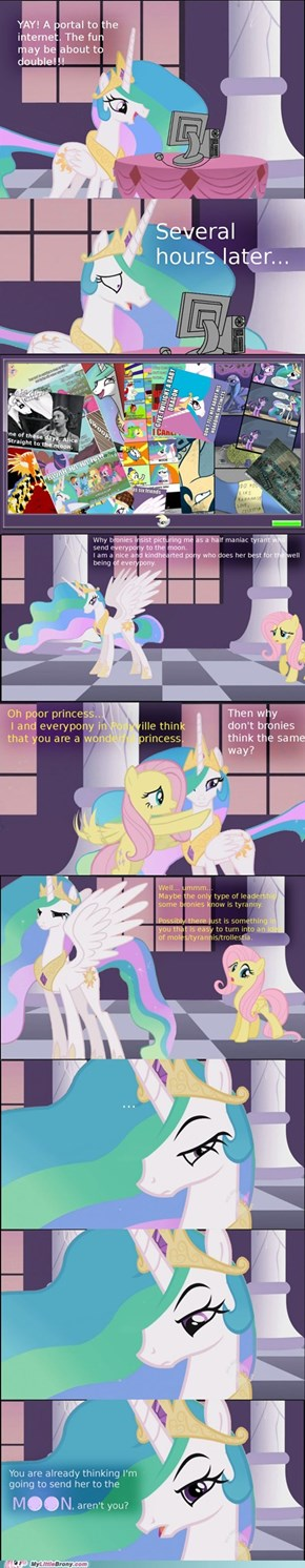 You Know Trolles... Celestia, Don't Ya?