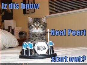 Iz dis haow Neel Peert  start owt?