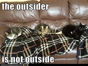 the outsider   is not outside