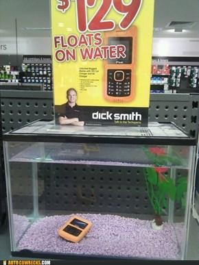 Phone Float FAIL