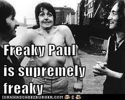 Freaky Paul is supremely freaky