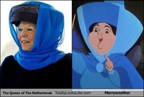 The Queen of The Netherlands Totally Looks Like Merryweather