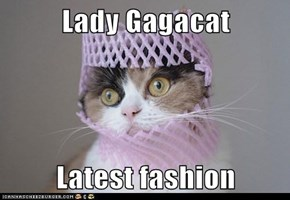 Lady Gagacat  Latest fashion