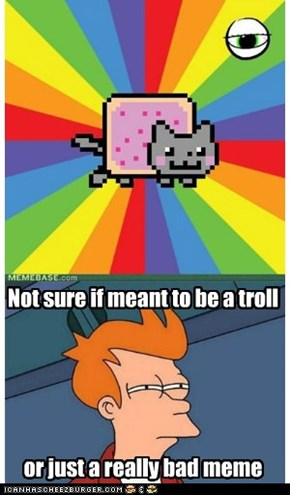 Nyan Cat Requires No Caption