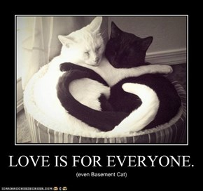 LOVE IS FOR EVERYONE.